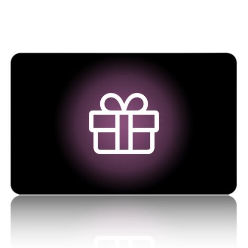 Black Cat Glass Designs Gift card.